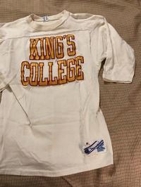 3月24日(土)入荷!フットボールTシャツ! KING'S COLLEGE! - ショウザンビル mecca BLOG!!