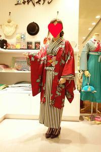 お客様着物コーデをご紹介♪ - 豆千代モダン 新宿店 Blog