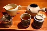 夜の焙じ茶 - 満足満腹  お茶とごはん