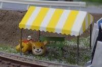 レイアウトに挑戦!(ホ)~ 50.イベント会場の小物を作る(2) - 【趣味なんだってば】 鉄道模型とジオラマの製作日記