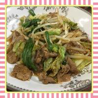 春キャベツと豚肉の辛味噌炒め(レシピ付) - kajuの■今日のお料理・簡単レシピ■