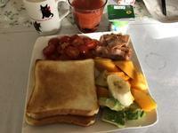 抗酸化な朝食、じゃなくて昼食 - try anyway