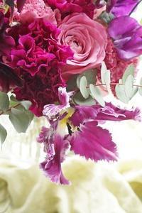 たまにはランチ&レッスン、糖質制限開放デー(笑) - お花に囲まれて
