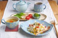 チャーハンの朝ごはん - 陶器通販・益子焼 雑貨手作り陶器のサイトショップ 木のねのブログ