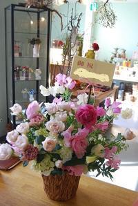 アレンジメントは御祝やお見舞い、新築御祝にも! - 花と暮らす店 木花 Mocca