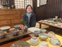 府川和泉 春の陶展~3日目 - アオモジノキモチ