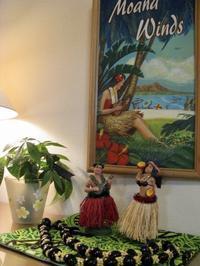 ハワイアンの夕べのために - ハワイアントールペイント教室 アトリエMoani Ke 'Ala