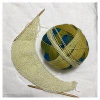 ショール:zauberbaall100 Nurmilintu(1) - よなよな編み物