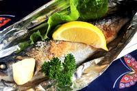 ■簡単!!絶品!!【ニジマスの塩焼きレモンバター味】 - 「料理と趣味の部屋」