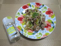 香りソルトでおいしく減塩&時短! 豚肉と長ねぎのレモンペパーミックス炒め - candy&sarry&・・・2