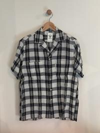 HOLLYWOOD RANCH MARKET / インディアンクレープコットン オープンカラーシャツ - Safari ブログ