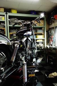 土日の授業風景 - Vintage motorcycle study