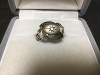 アンティーク K14WG製 ダイヤモンドリング - アンティーク(骨董) テンナイン