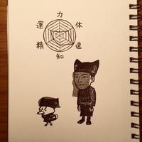 黒衣(くろご)のタップ - GUNTAPimprint