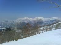 春爛漫スキー!…水後山 - 山にでかける日