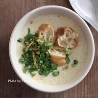 ほっこり鹹豆漿 - ふみえ食堂  - a table to be full of happiness -
