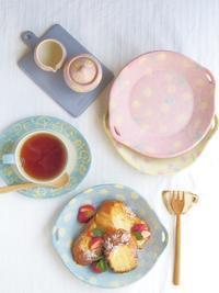 フレンチトーストの朝ごはん - 陶器通販・益子焼 雑貨手作り陶器のサイトショップ 木のねのブログ
