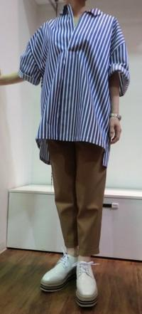 MARECHAL TERRE   ☆Big  shirt☆ - persimmon blog