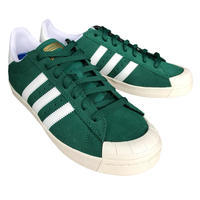 adidas Skateboarding - HALF SHELL VULC (Green/White/White Suede) - Growth skateboard elements