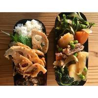 週末と、土筆卵とじBENTO - Feeling Cuisine.com