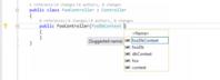 最近お気に入りの Visual Studio 2017/Code の機能 - 「プロパティを作成して初期化する」 - @jsakamoto