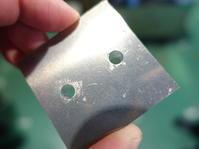 アルミ10ミリに6φの穴 - ステンレスクリーンカットのレーザーテック