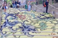 香港・珠玉の階段アート! - 旅するツバメ                                                                   --  子連れで海外旅行を楽しむブログ--