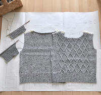 桜パトロールと、迷う・迷えば・迷うとき - セーターが編みたい!