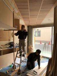 店舗の工事 - 佐々木善樹建築研究室・・・日々のコト・・・