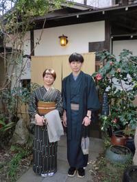 レトロなお着物も渋くてかわいくて。 - 京都嵐山 着物レンタル&着付け「遊月」
