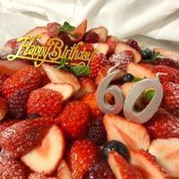 還暦お祝いケーキ! - fait main de CHAR