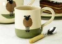 春、紅茶をひつじのマグカップで楽しむ - ブルーベルの森-ブログ-英国のハンドメイド陶器と雑貨の通販