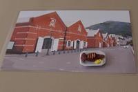 金森赤レンガ倉庫の絵はがき - 工房アンシャンテルール就労継続支援B型事業所(旧いか型たい焼き)セラピア函館代表ブログ