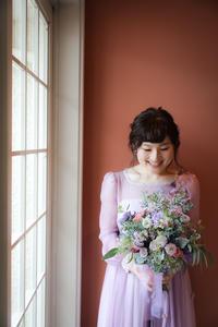 新郎新婦様からのメールTERAKOYAの花嫁さま、アシスタントこよいちゃん - 一会 ウエディングの花