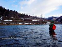本流のプライベートレッスンと実釣スクールそしてプラ釣りしてきました。 - Fly Fishing Total Support.TEAL