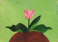 チューリップを見て思うことなど - 手製本クリエイター&切り絵コラージュ作家yukai の暮らしを愉しむヒント