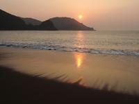 Beautiful sunrise at Ohama Beach|大浜海岸の美しい日の出 - 旅年譜  Chronological Record of Junya Nakai's travel