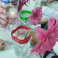 保育園花育レポ*元気いっぱい! - 「花」と「自分」を楽しむ花教室*  fleur Nature-フルール ナチュール-