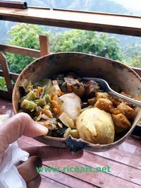 アイタルレストランinブルーマウンテン地区 - ジャマイカブログ Ricoのスケッチ・ダイアリ