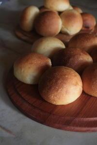 野菜酵母の丸パンとベーグルとイングリッシュマフィン - sue*の lifenote