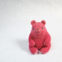 視線感じると思ったらピンクのクマ - miz-fc