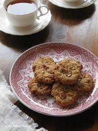 さくっと軽い♪ 黒糖ナッツクッキー - キッチンで猫と・・・