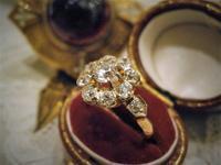 4月の誕生石 ダイヤモンドリング - AntiqueJewellery GoodWill