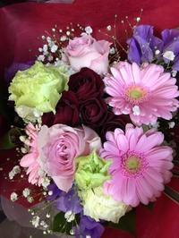 花束の季節 - グリママの花日記
