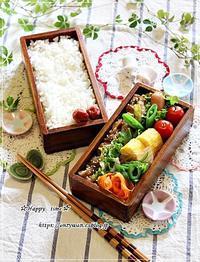 春キャベ・新玉で肉野菜炒め弁当とお肉はまだかいな??♪ - ☆Happy time☆