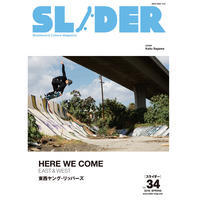 SLIDER MAGAZINE - SLIDER vol.34 - Growth skateboard elements