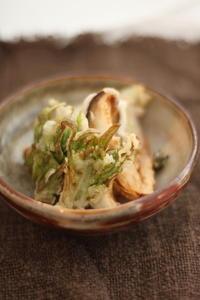 春だ〜!ふきのとうの天ぷら - 玄米菜食 in ニュージャージー