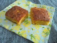人参と柑橘の米粉ケーキ - Minha Praia
