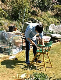 孫の手伝い - 私の息抜き(^o^)