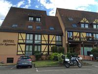 2015 スイスフランスツーリング リクヴィルでディナー!オー・トゥロテュス(Au Trotthus) - Motorradな日々 2